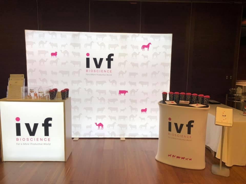 IVF Bioscience Booth